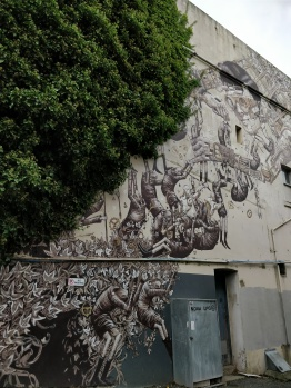 Intricate collab between British Phlegm and Italian Pixel Pancho