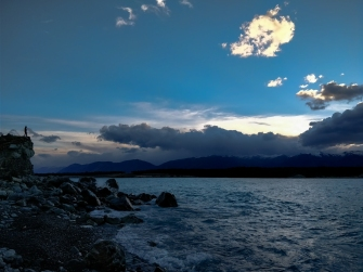 Southern shore of Lake Pukaki