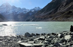 """Hooker Glacier Lake """"icebergs"""""""