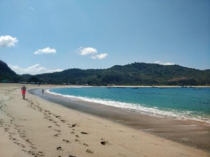 Mawun Beach.