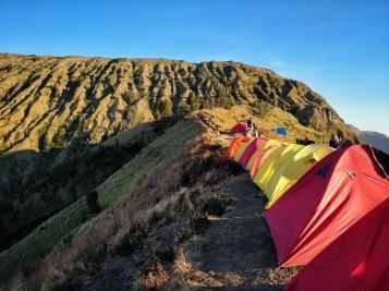 Day 1 campsite.