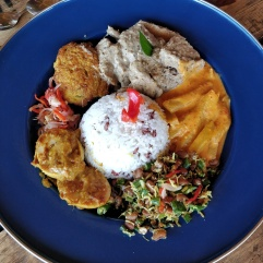 Blue Diamond nasi campur.