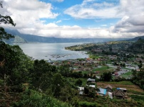 Batur Lake and valley.