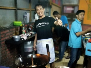 The best cap jay chef in Banyuwangi.